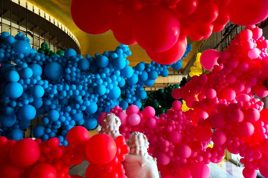 Geronimo Balloons New York City Ballet Art Series Lincoln Center loqueva