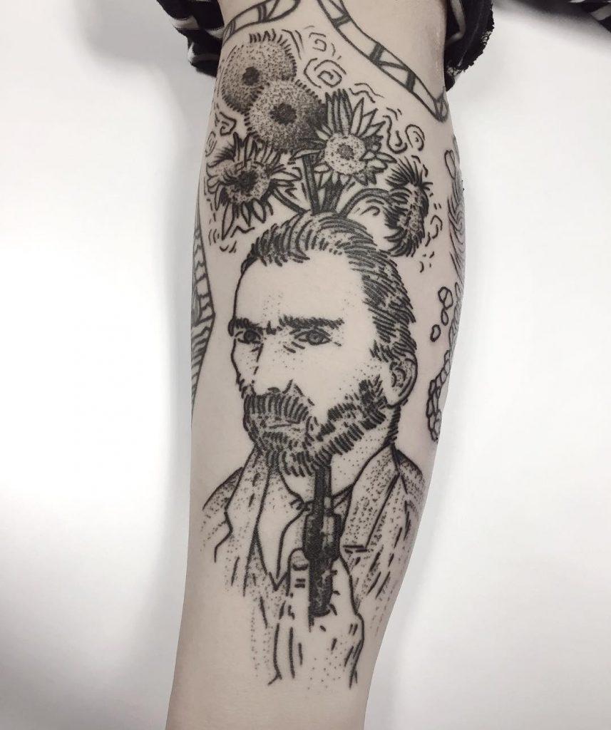 tatuajes en blanco y negro por Charley Gerardin (4)