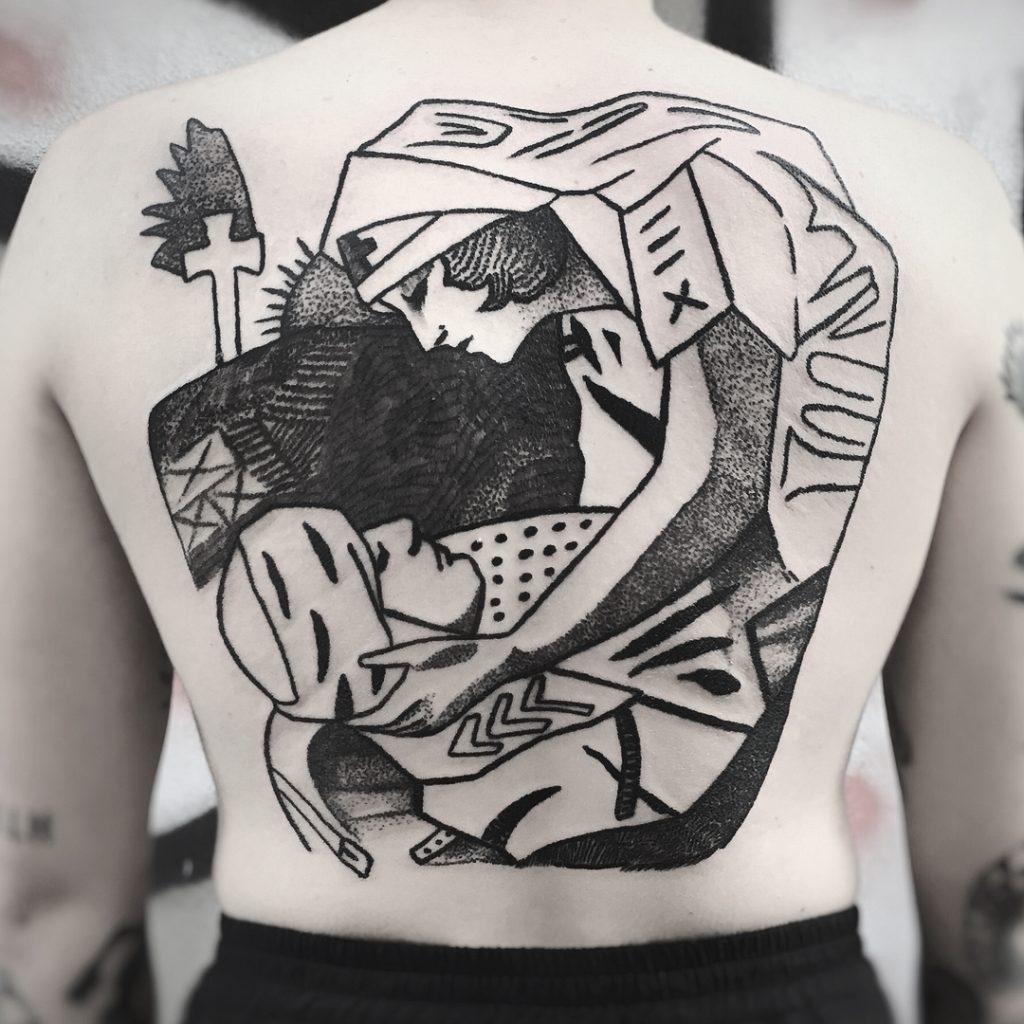 tatuajes en blanco y negro por Charley Gerardin (47)