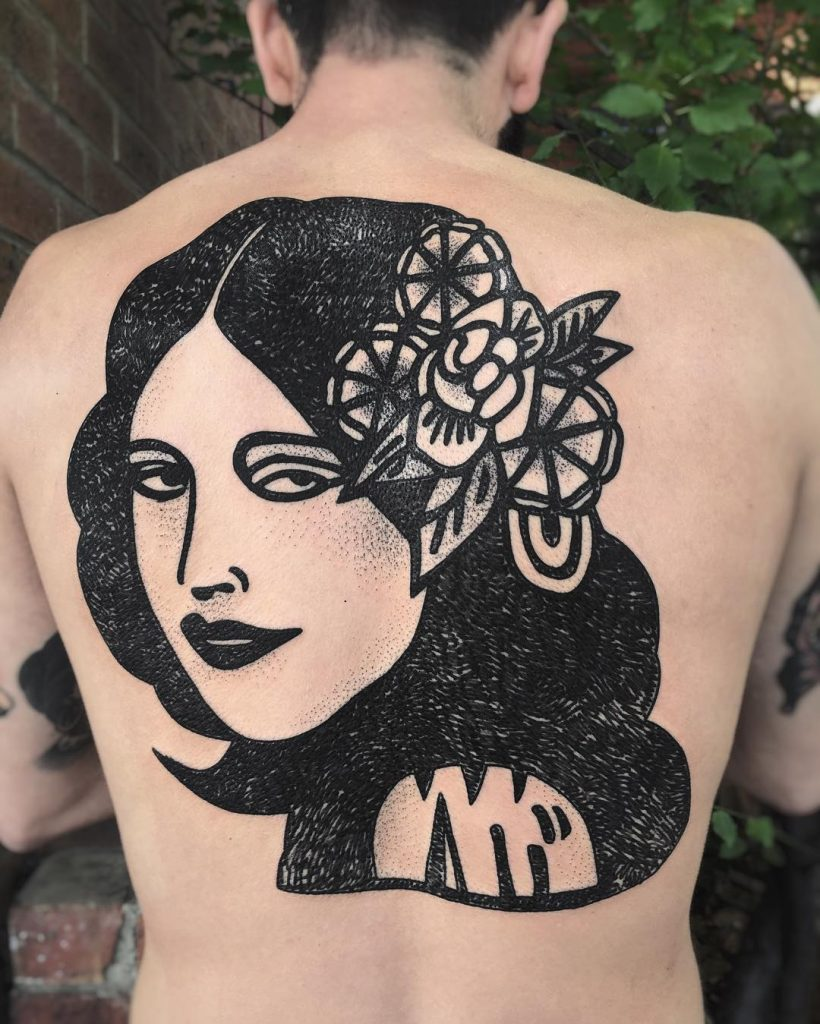 tatuajes en blanco y negro por Charley Gerardin (9)