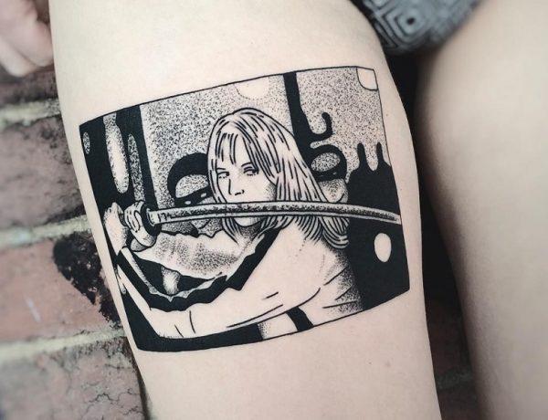 tatuajes en blanco y negro por Charley Gerardin loqueva