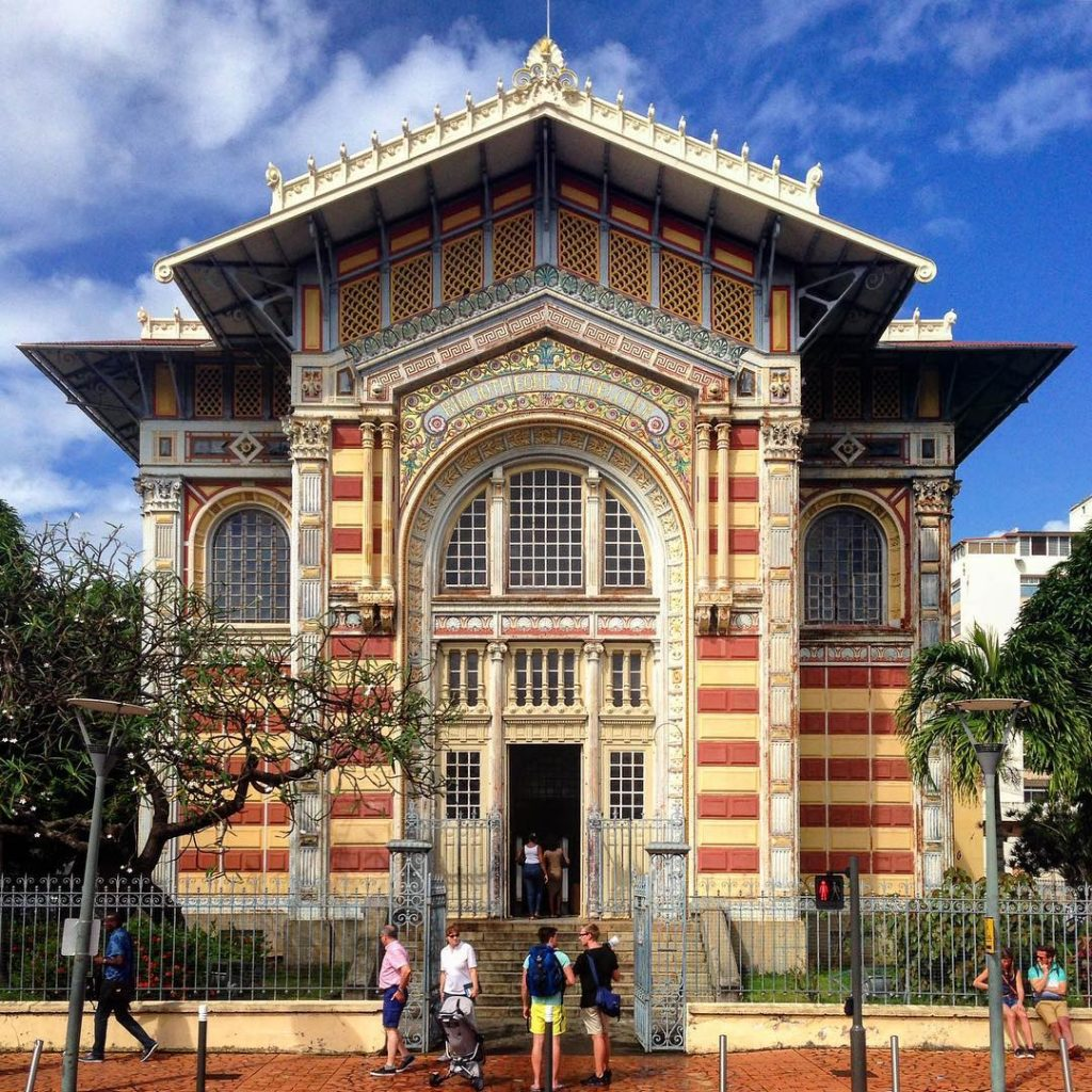 Bibliothèque Schœlcher, Fort de France, Martinique, French West Indies.