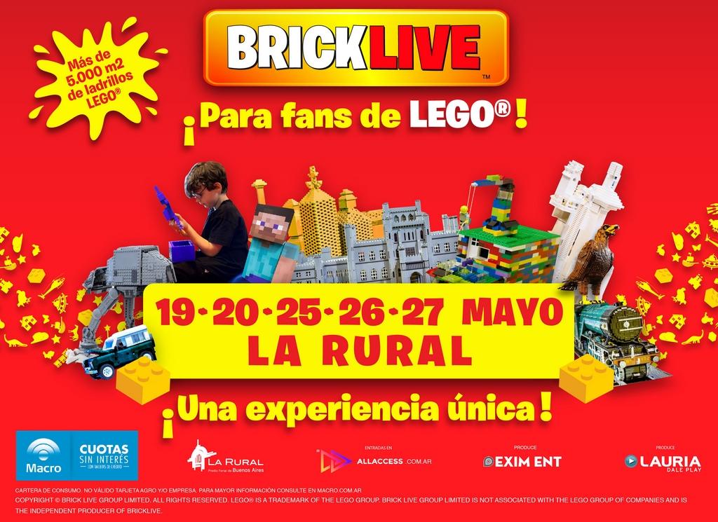 BrickLive, por primera vez una experiencia única para los fans de LEGO® (1)