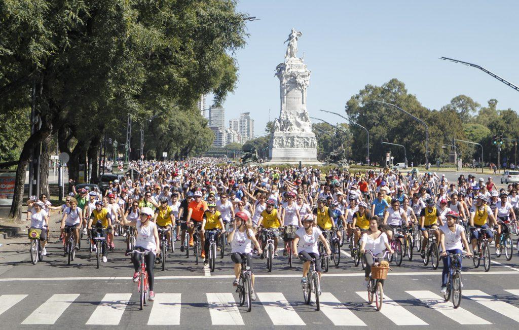Chicas en Bici Buenos Aires Alto Palermo