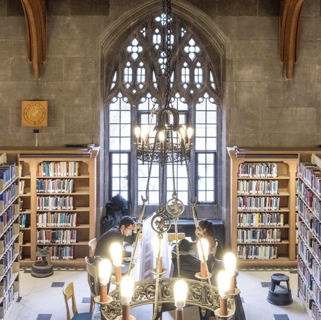 Emmanuel College Library, University of Toronto, Canada