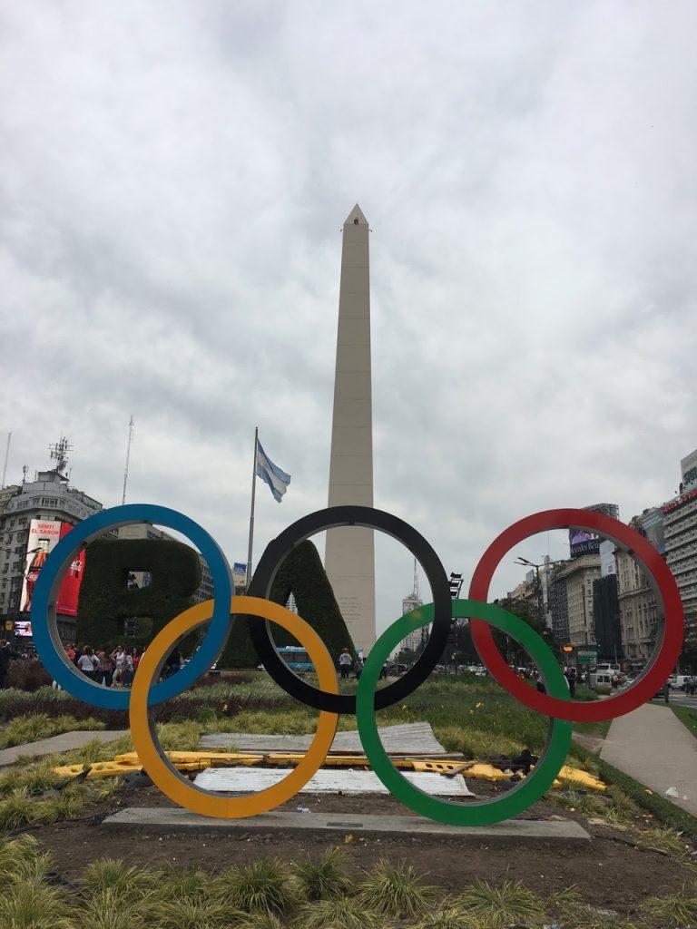 Fernando Poggio anillos olimpicos obelisco buenos aires (3)