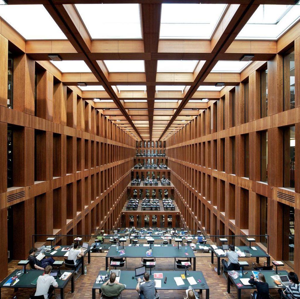Jacob und Wilhelm Grimm Zentrum, Humboldt University, Berlin, Germany.