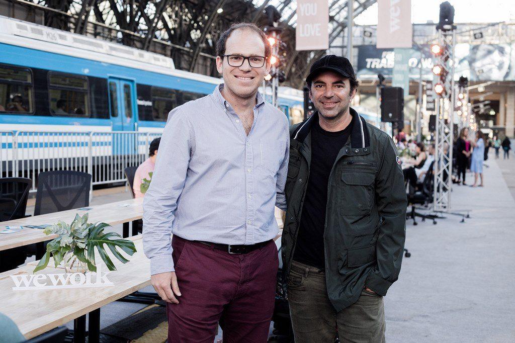 Pato Fuks, CEO de WeWork Latam y Pablo Princz, Presidente de Enseñá x Argentina