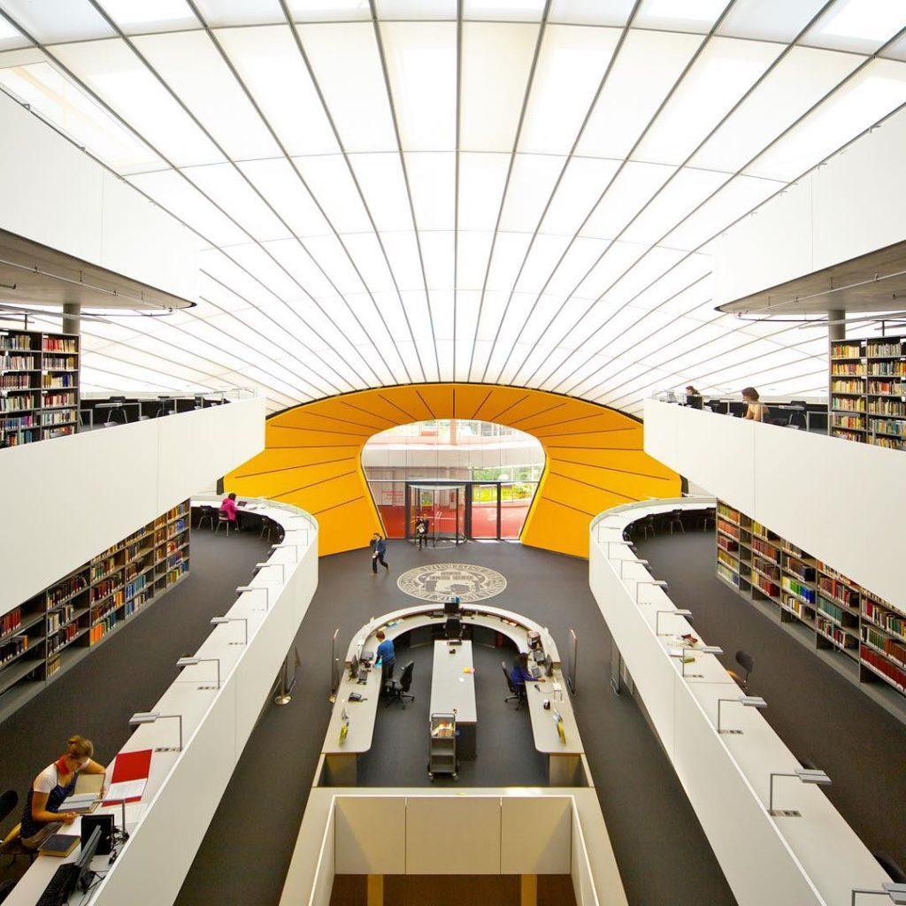 Philologische Bibliothek, Freie Universität Berlin, Germany