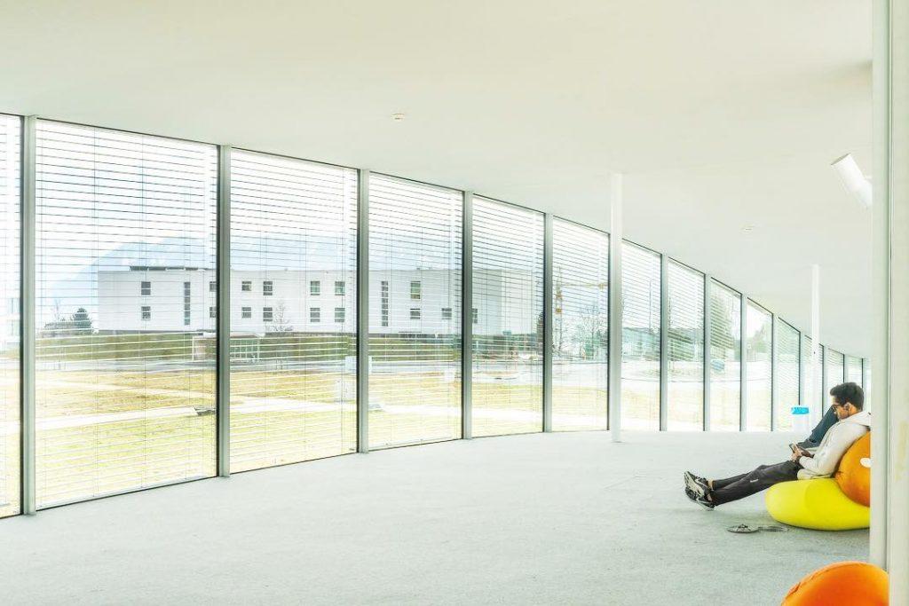 Rolex Learning Centre, EPFL, Lausanne, Switzerland