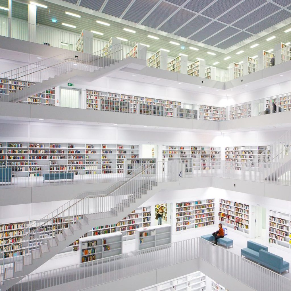 Stadtbibliothek am Mailänderplatz, Stuttgart, Germany