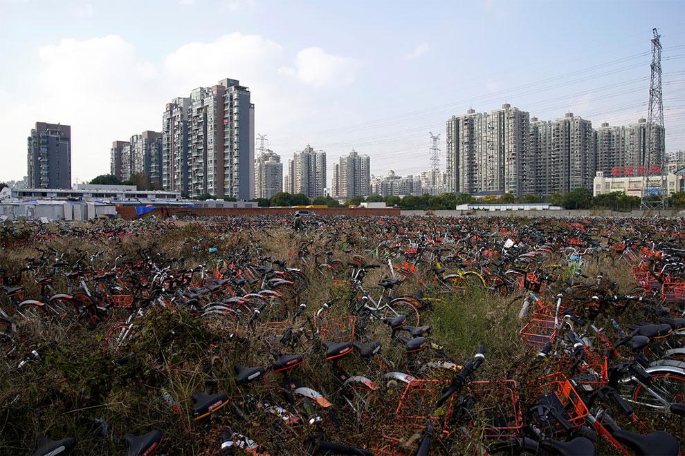Cementerios bicicletas compartidas en china (4)