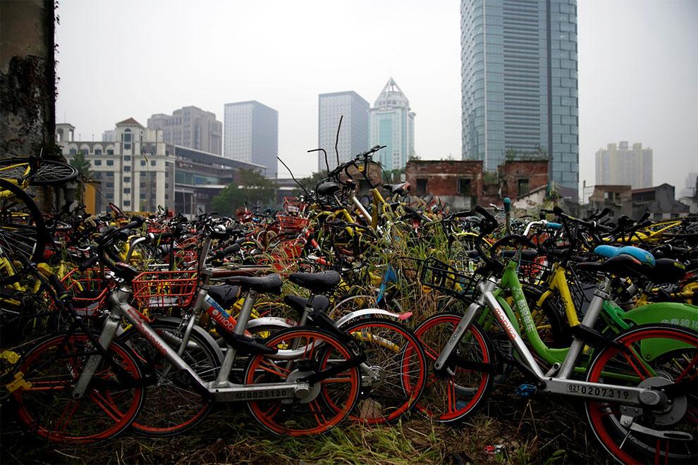 Cementerios bicicletas compartidas en china (9)