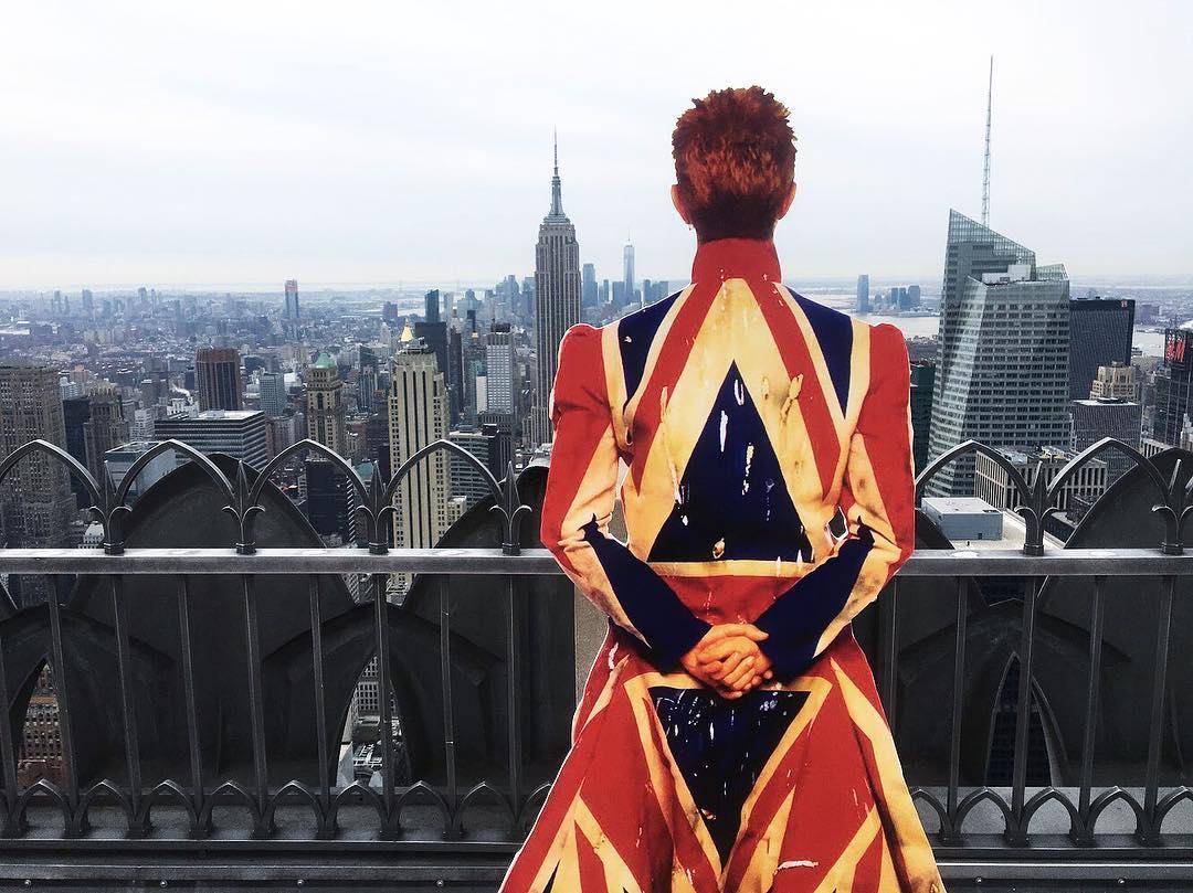 David Bowie invadió una estación de subte de Nueva York (12)