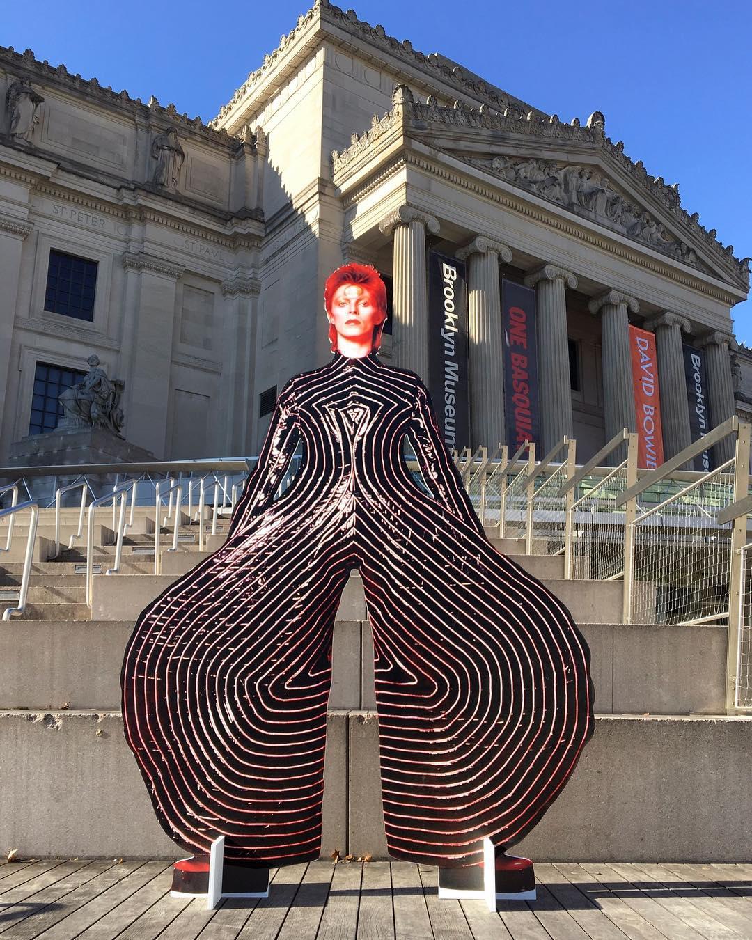 David Bowie invadió una estación de subte de Nueva York (13)