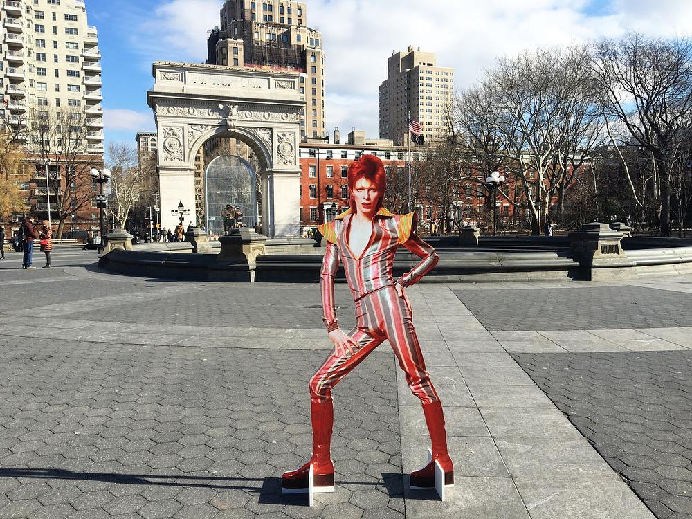 David Bowie invadió una estación de subte de Nueva York (14)
