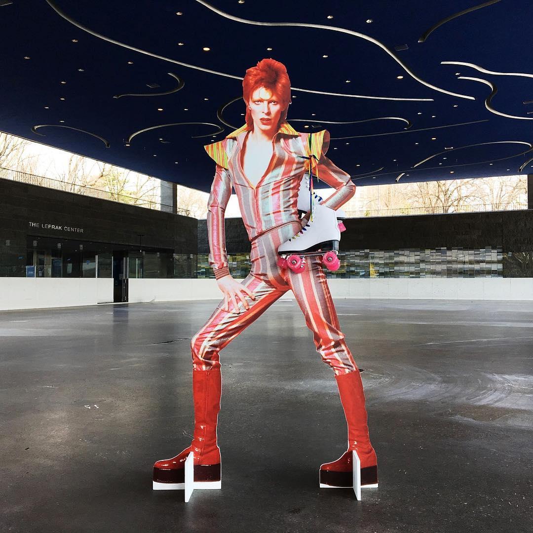 David Bowie invadió una estación de subte de Nueva York (17)