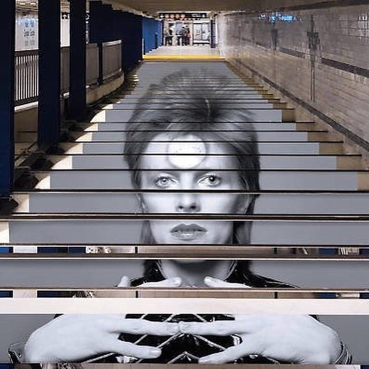 David Bowie invadió una estación de subte de Nueva York (2)