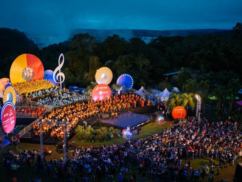 Iguazú en concierto, el Festival de Música más maravilloso del mundo