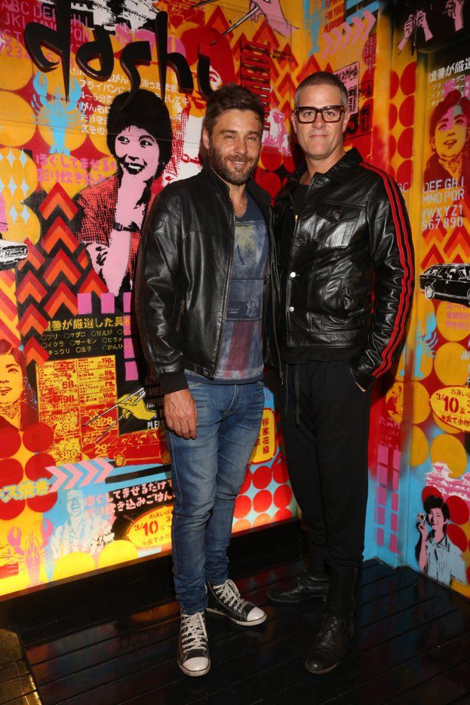 Los actores Gastón Ricaud y Mike Amigorena