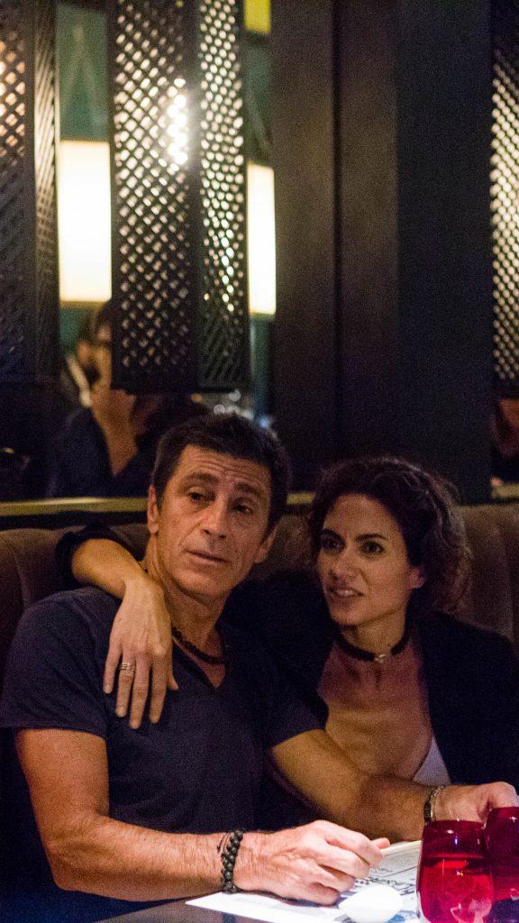 Nico Repetto y Flor Raggi