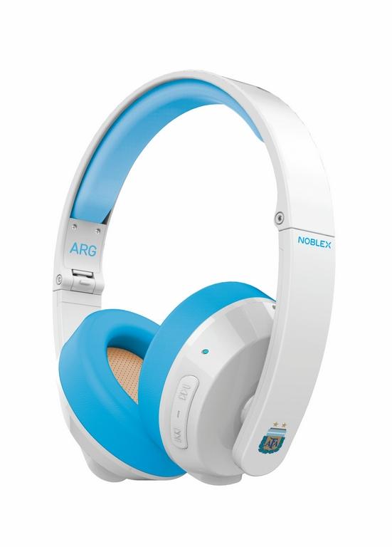 Noblex Mundial Rusia 2018 Auriculares Bluetooth $1299