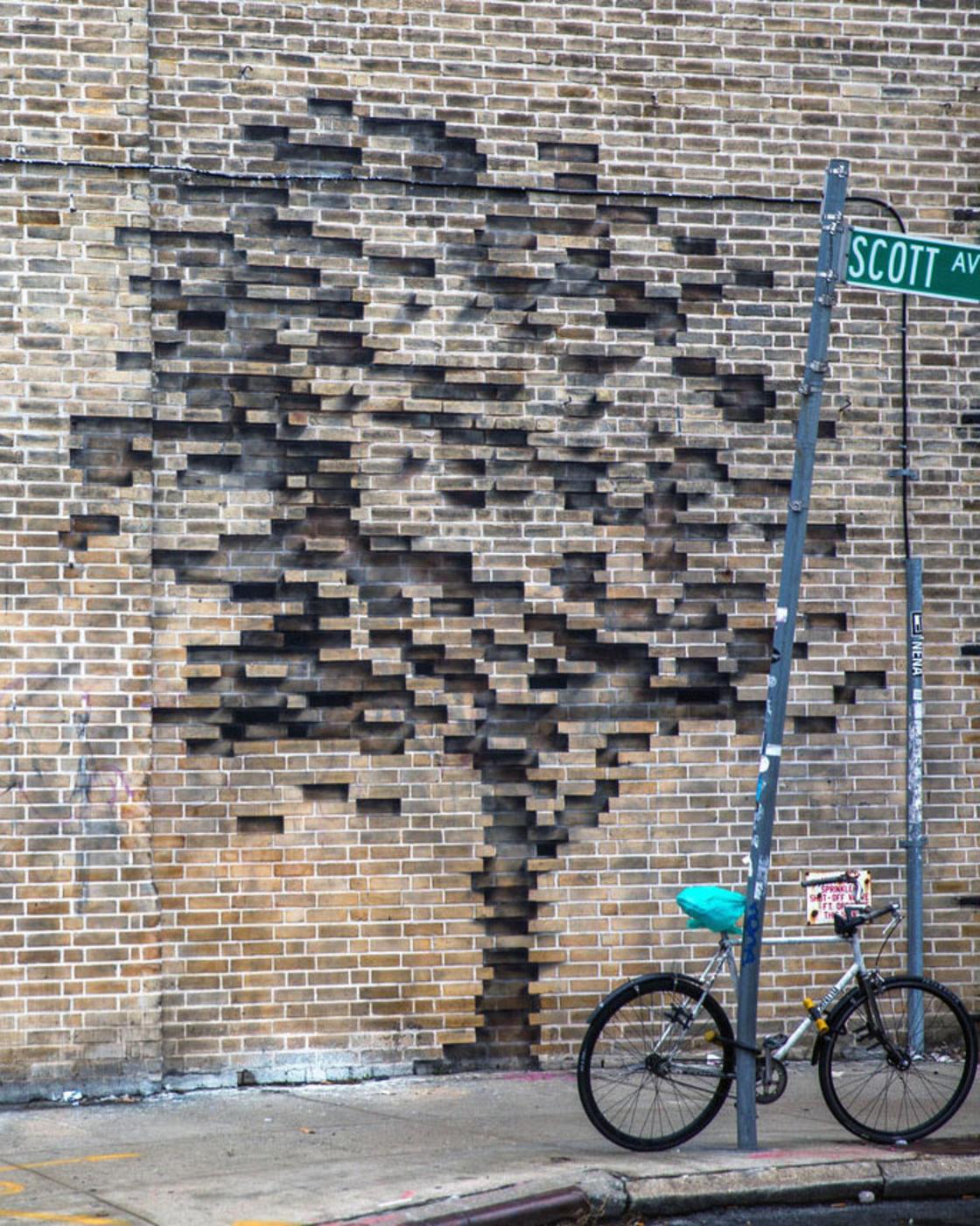 Pejac arte urbano nueva york street art new york