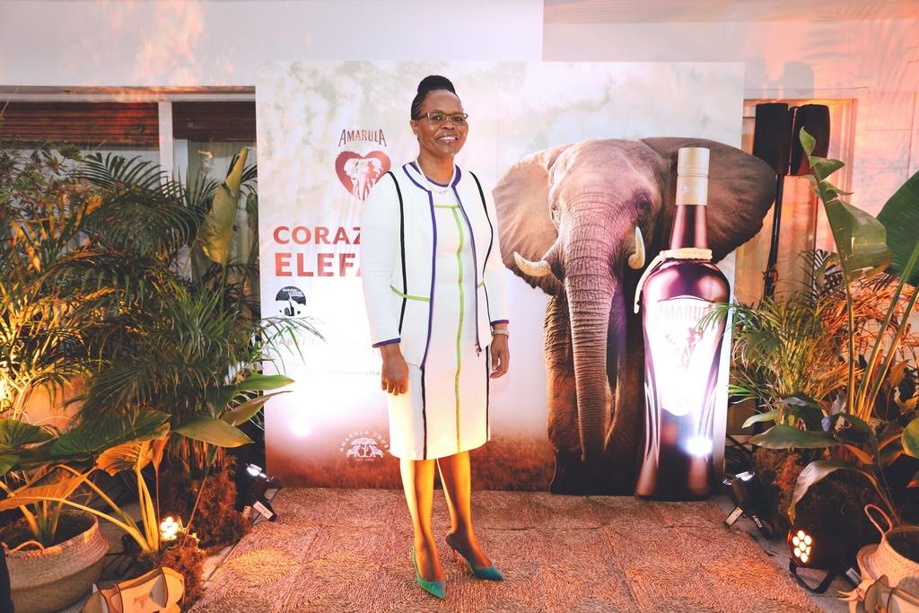 Phumelele Gwala, Embajadora de Sudáfrica, abrió las puertas de su casa para el evento de Amarula