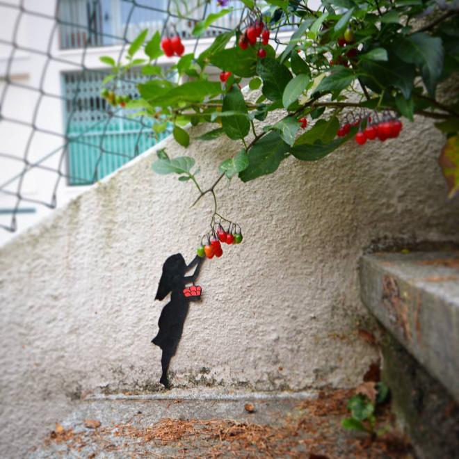 Street Art by OakOak loqueva