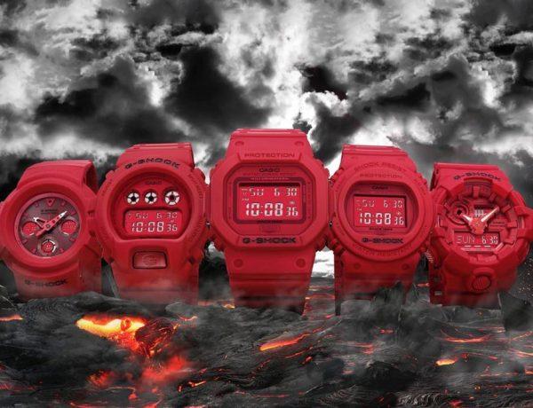 G-Shock festeja su 35 aniversario con la línea Red-Out