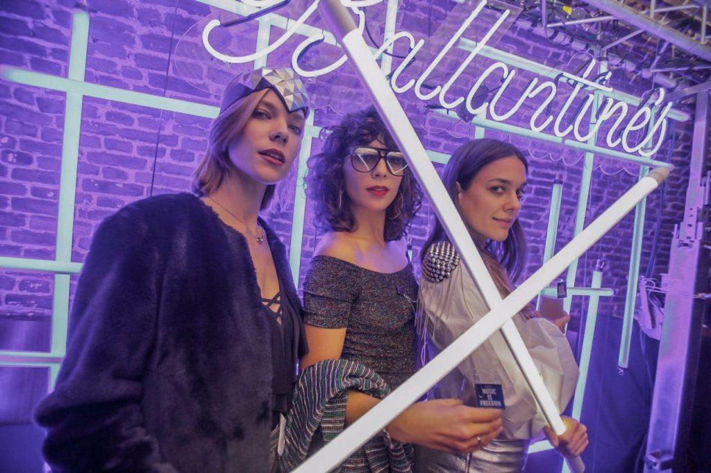 Laura Laprida, Cala y Sonia Zavaleta
