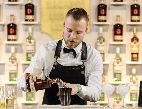 Eric Van Beek Ganador del 10° Bacardí Legacy Cocktail Competition 2018