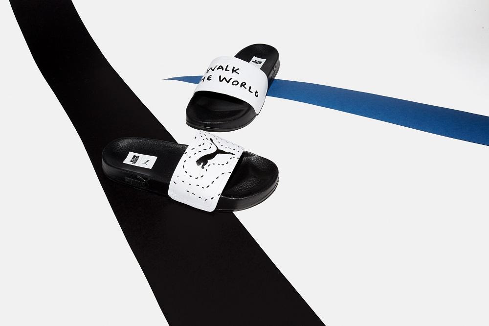 Puma y Shantell Martin presentan su colección debut