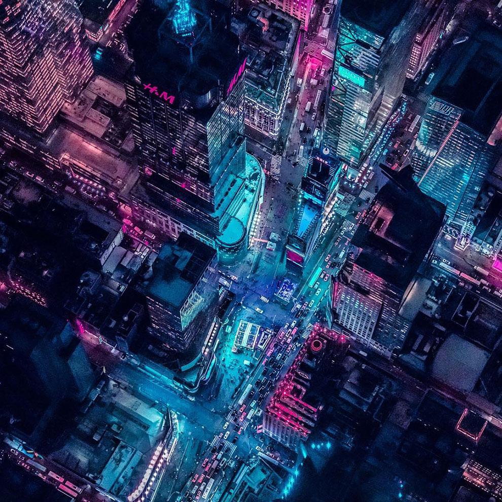 Xavier Portela pinta Nueva York de color Glow (10)