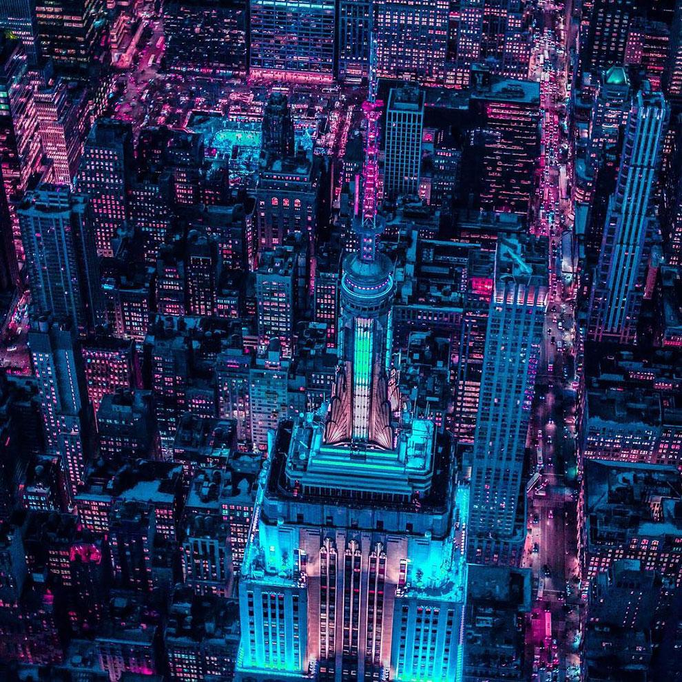 Xavier Portela pinta Nueva York de color Glow (3)