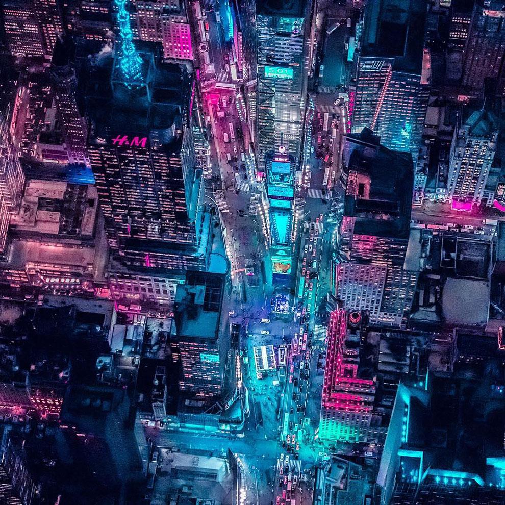 Xavier Portela pinta Nueva York de color Glow (4)