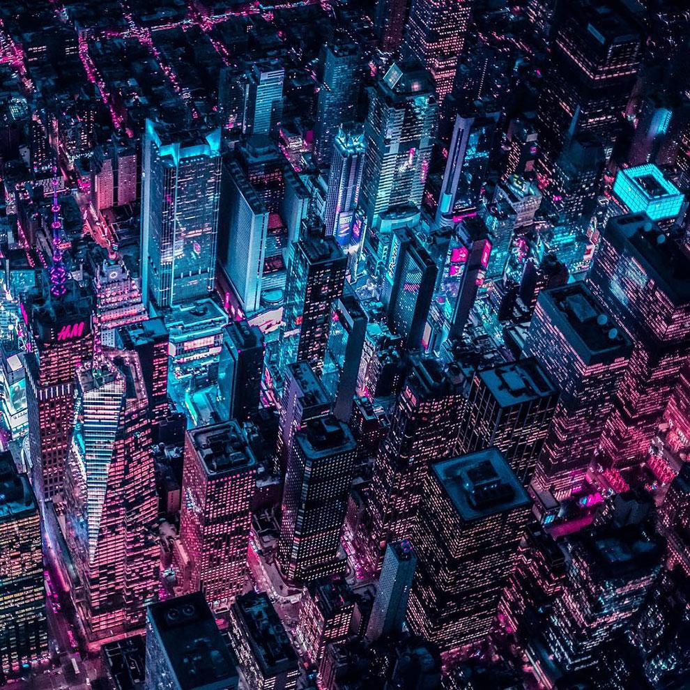 Xavier Portela pinta Nueva York de color Glow (5)