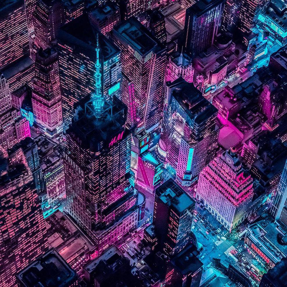 Xavier Portela pinta Nueva York de color Glow (6)