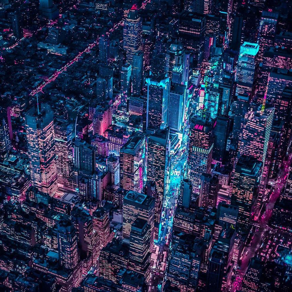 Xavier Portela pinta Nueva York de color Glow (7)