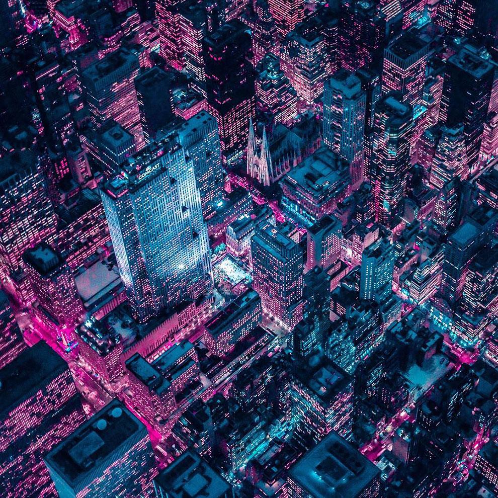 Xavier Portela pinta Nueva York de color Glow (8)