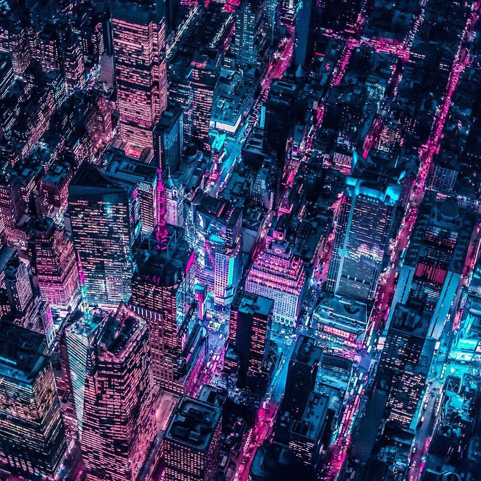 Xavier Portela pinta Nueva York de color Glow (9)