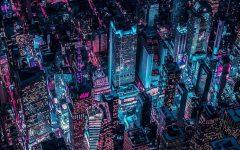 Xavier Portela pinta Nueva York de color Glow home