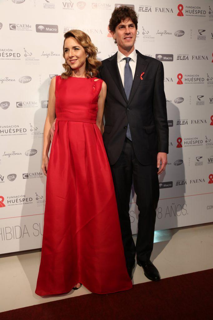 Carla Peterson y Martín Lousteau