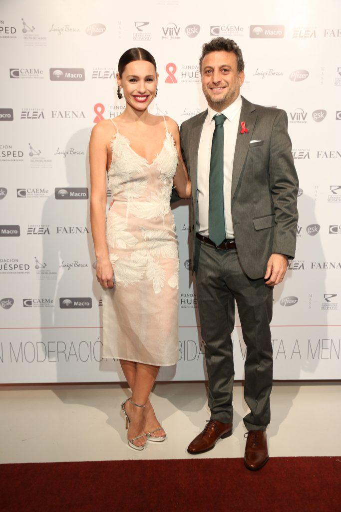 Carolina Pampita Ardohain y Leandro Cahn