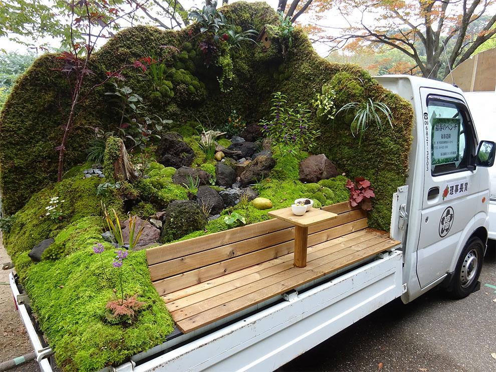 Original concurso de paisajismo en mini trucks
