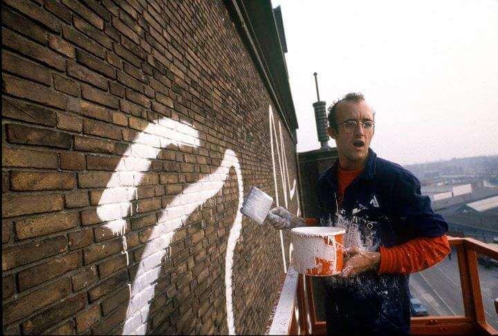 Keith Haring loqueva