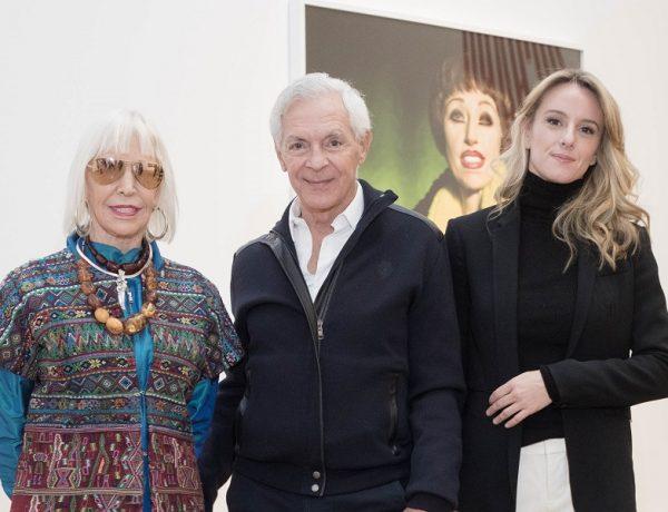 Marta Minujin, Eduardo Costantini y Estefani Daneri home