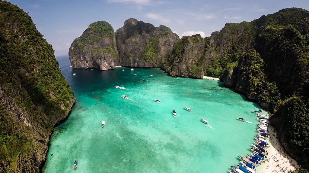 Maya Bay The Beach Thailandia Phi Phi