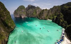 Maya Bay The Beach Thailandia Phi Phi
