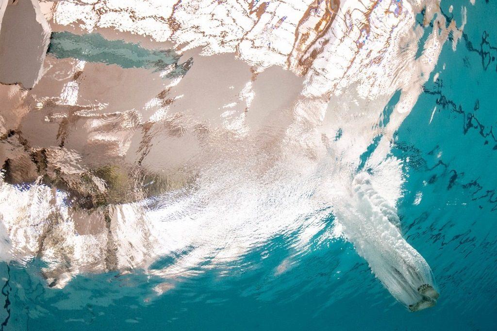 Alex Voyer y Alex Roubaud under pool debajo del agua loqueva